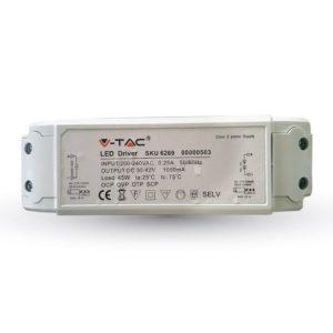 Τροφοδοτικό γιά LED Panel 45W ντιμαριζόμενο VTAC PRO