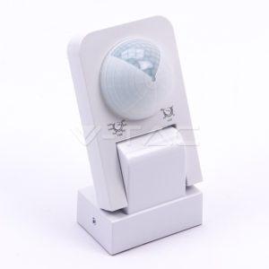 Ανιχνευτής κίνησης max 1000W λευκός αδιάβροχος VTAC