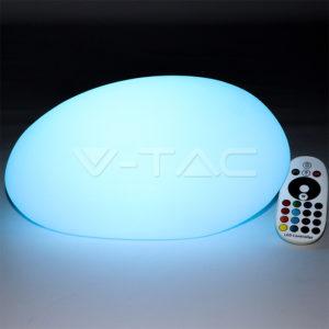 Φωτιστικό LED μπαταρίας RGB 1W IP65 πέτρα VTAC