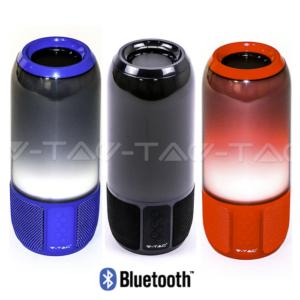 Επιτραπέζιο φωτιστικό ηχείο RGB bluetooth VTAC