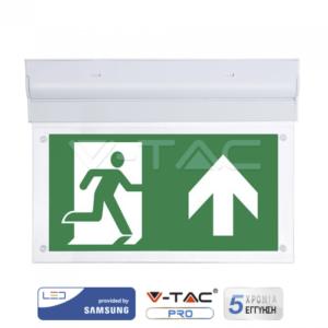 Φωτιστικό ασφαλείας LED 2W οροφής VTAC Samsung
