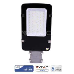 Φωτιστικό δρόμου LED 30W 3600LM VTAC Samsung