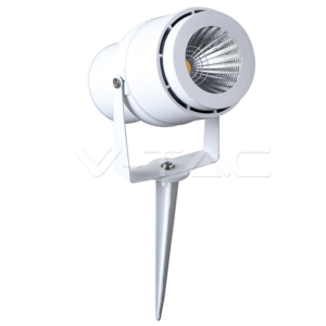 Φωτιστικό κήπου LED 12W λευκό IP65 VTAC