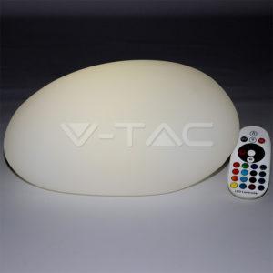 Φωτιστικό LED μπαταρίας RGB 0.5W IP65 πέτρα VTAC