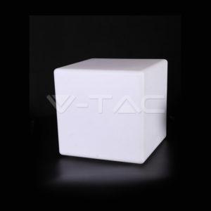 Φωτιστικό LED μπαταρίας RGB 3W κύβος VTAC
