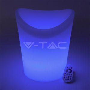 Φωτιστικό LED μπαταρίας RGB 1.5W παγονιέρα VTAC