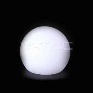 Φωτιστικό LED μπαταρίας RGB 1W IP65 σφαίρα VTAC