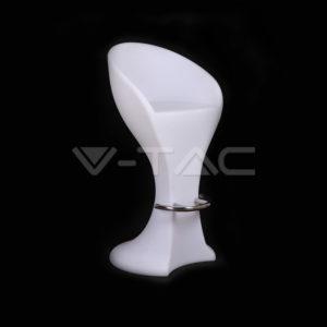 Φωτιστικό LED μπαταρίας RGB 1W σκαμπό VTAC
