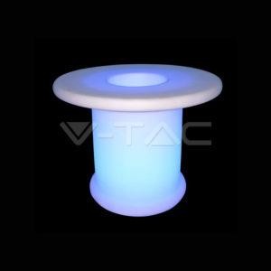Φωτιστικό LED μπαταρίας RGB 3W τραπέζι VTAC