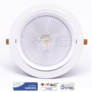 Φωτιστικό οροφής LED 30W κινητό VTAC SAMSUNG