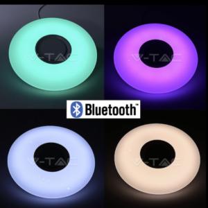 Πλαφονιέρα ηχείο LED 35W RGB+λευκό VTAC