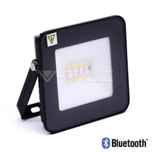 Προβολέας LED Bluetooth 20W RGB+λευκό αδιάβροχος VTAC