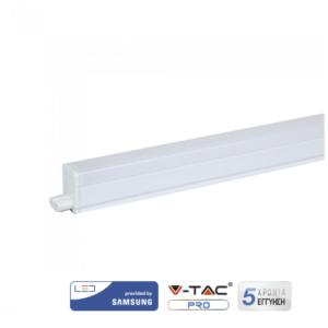 Φωτιστικό LED T5 4W 30cm με διακόπτη VTAC Samsung