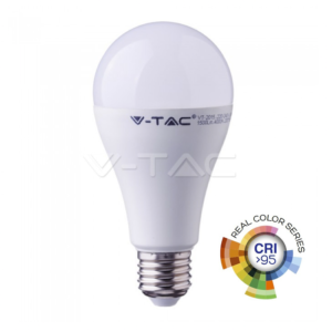 Λάμπα LED E27 17W A65 real colour VTAC