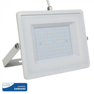 Προβολέας LED 100W IP65 HL λευκός VTAC SAMSUNG