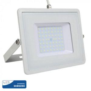 Προβολέας LED 50W IP65 HL λευκός VTAC SAMSUNG