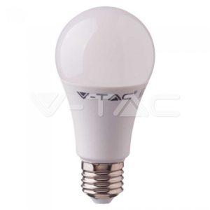 Έξυπνη λάμπα LED E27 A60 9W RGB+λευκό VTAC