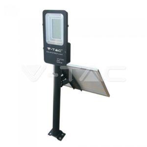 Προβολέας δρόμου LED 50W Ηλιακός VTAC