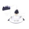 Σποτάκι LED GU10 5W με βάση 3τμχ VTAC-4