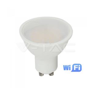 Wifi spot LED GU10 4.5W RGB+λευκό VTAC