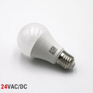 Λάμπα LED E27 8W 24V A60 LUMEN